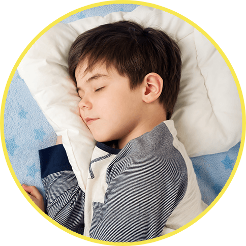 Child sleeping soundly